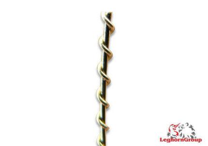 arame ondulado latão