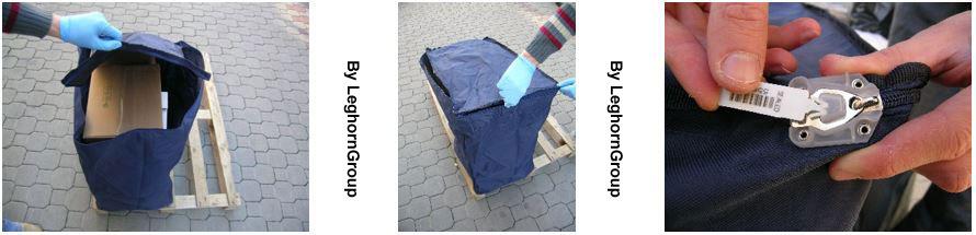 borsa proteggi colli cartoni scatole