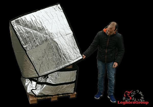 cobertura alumínio paletes art.td005