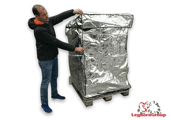 Cobertura Térmica Em Alumínio Para Paletes