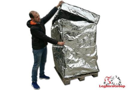 cobertura térmica alumínio paletes