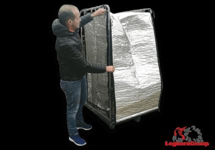 cobertura térmica roll container