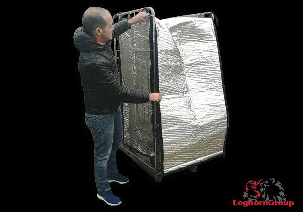 Cobertura Térmica Para Roll Container