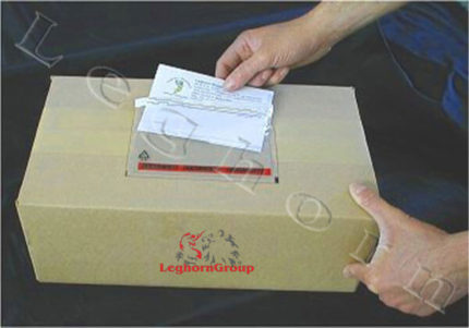 envelope adesivo porta-documentos packing list