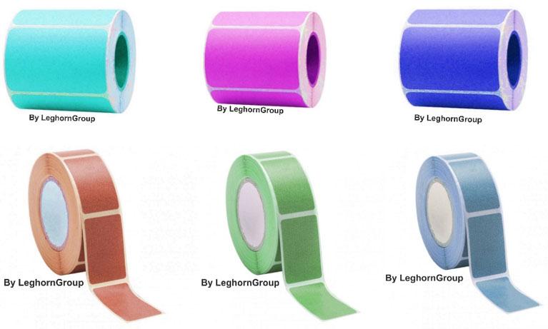 etichette adesive personalizzate in rotolo
