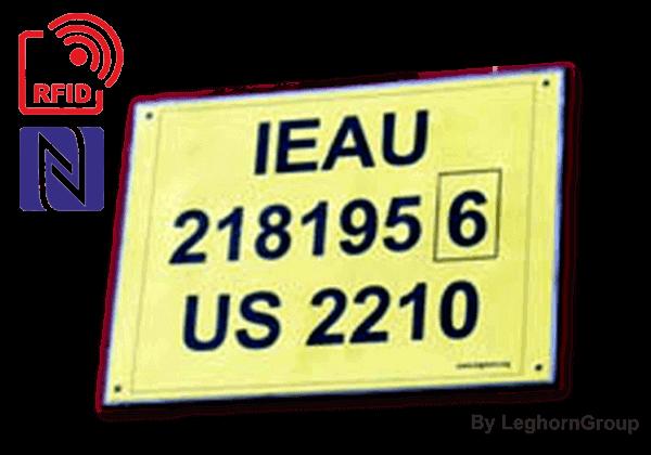 Etiqueta RFID Para Contentores TAGETE