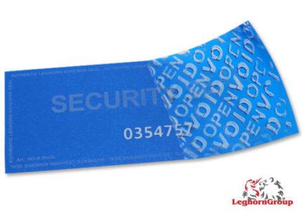 etiqueta segurança void sem resíduo