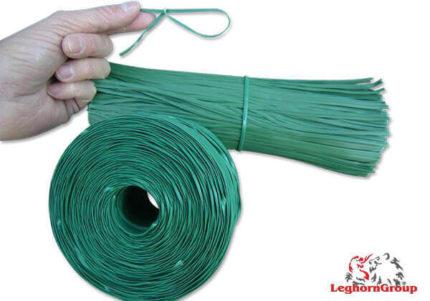 arame plastificado plantas sacos