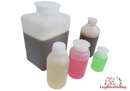 frasco plástico redondo boca larga selável