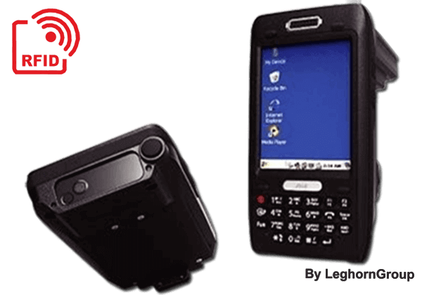Leitor EPR AT880 Hand-Held RFID UHF
