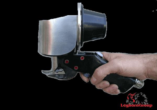 pistola cravar ilhós pneumática