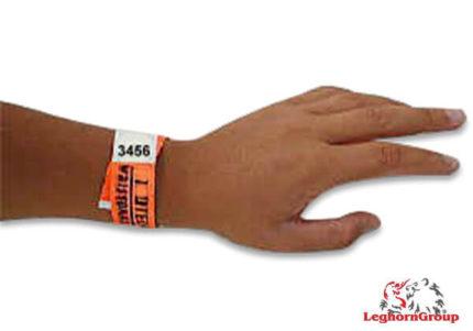 pulseira identificativa tyvek