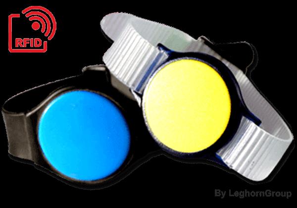 Pulseira Relógio RFID LF/HF/UHF