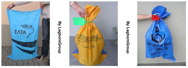 sacchi postali con sigilli