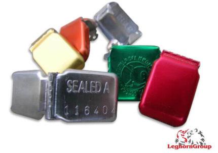selo alumínio auto-bloqueio crimpseal