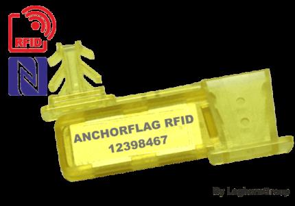 selo âncora fio rfid uhf nfc anchorflag