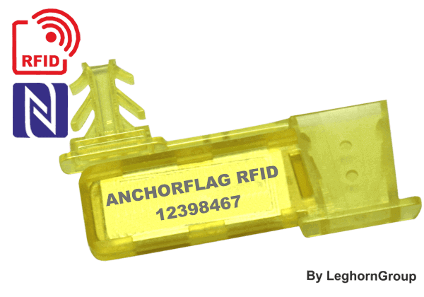 Selo Tipo âncora De Fio RFID UHF Anchorflag