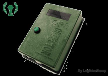 selo eletrónico gps detector