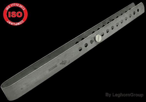 selo metálico barra contentores block bar