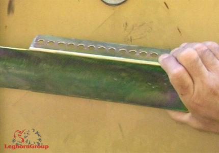 selo metálico barra para contentores cargoclamp