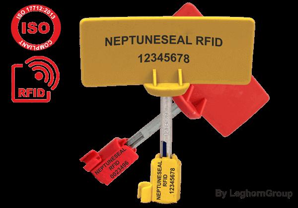 Selo Metálico Barreira RFID Para Contentores ISO 17712 Neptuneseal
