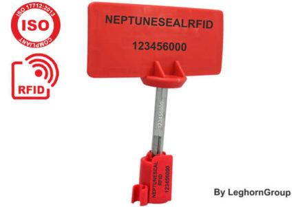 selo metálico barreira pino rfid contentores iso neptuneseal