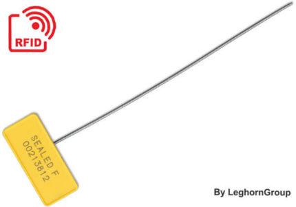 selo metálico cabo rfid anti-tamper