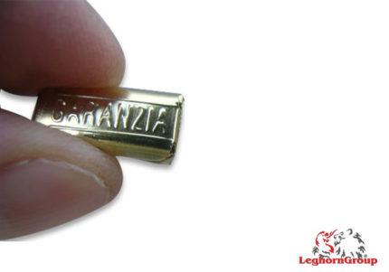 selo metálico matcrimp 34x8mm
