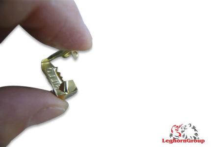 selo metálico matcrimp 55x10mm