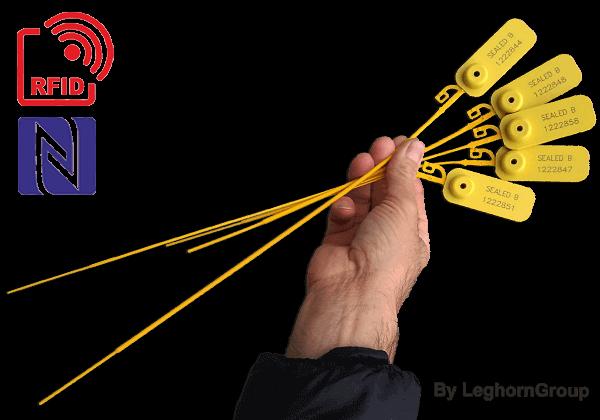 Selo Plástico Regulável JUPITER SEAL RFID – NFC