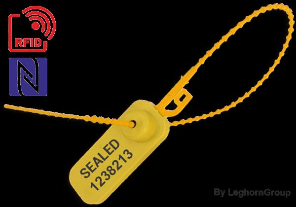 Selo Plástico Regulável Adjustseal RFID – NFC