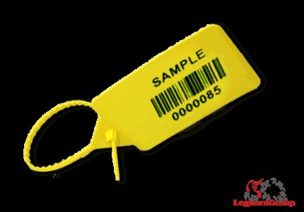 selo plástico regulável titanseal 5x328mm