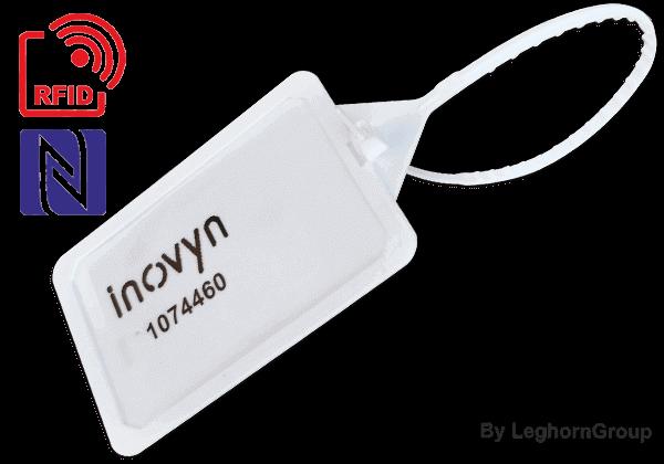 Selo Plástico Regulável TITANSEAL RFID 5×424 Mm