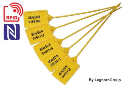 selo plástico regulável titanseal rfid 424mm