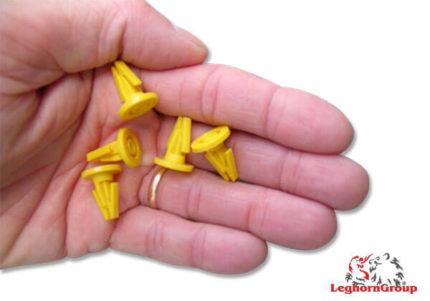 selo plástico tipo âncora caixas contentores totebox 17x14mm