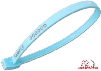 selo plástico tipo anel hornseal 7x215mm