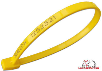 selo plástico tipo anel hornseal 7x260mm