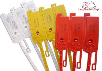 selo segurança plástico regulável longseal 6x420mm