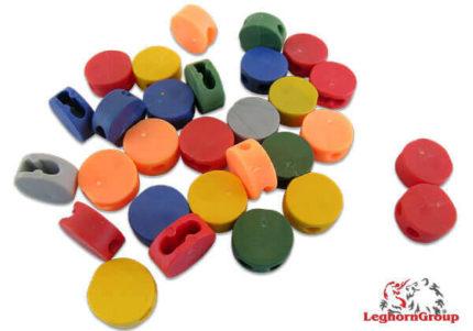 selo tipo botão cores plombex