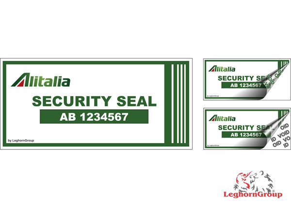Etiqueta De Segurança Para Companhias Aéreas E Aeroportos