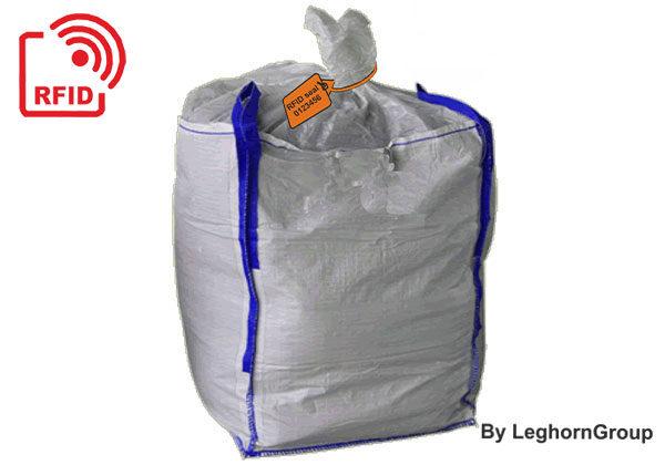 Selo Plástico Regulável TITANSEAL RFID Para Big Bag Lamas