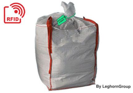 selo plástico regulável titanseal rfid big bag lamas