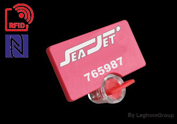 Selo Rotativo De Fio Para Contadores Twistseal RFID UHF