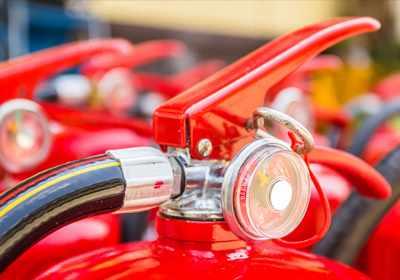 Selos para extintores