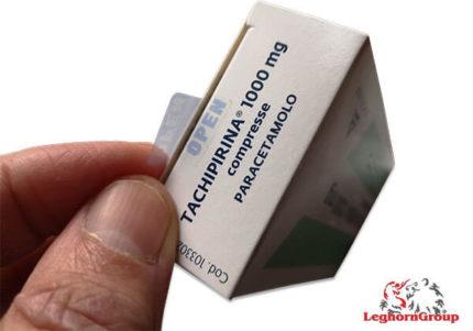 etiqueta void embalagens farmacêuticas